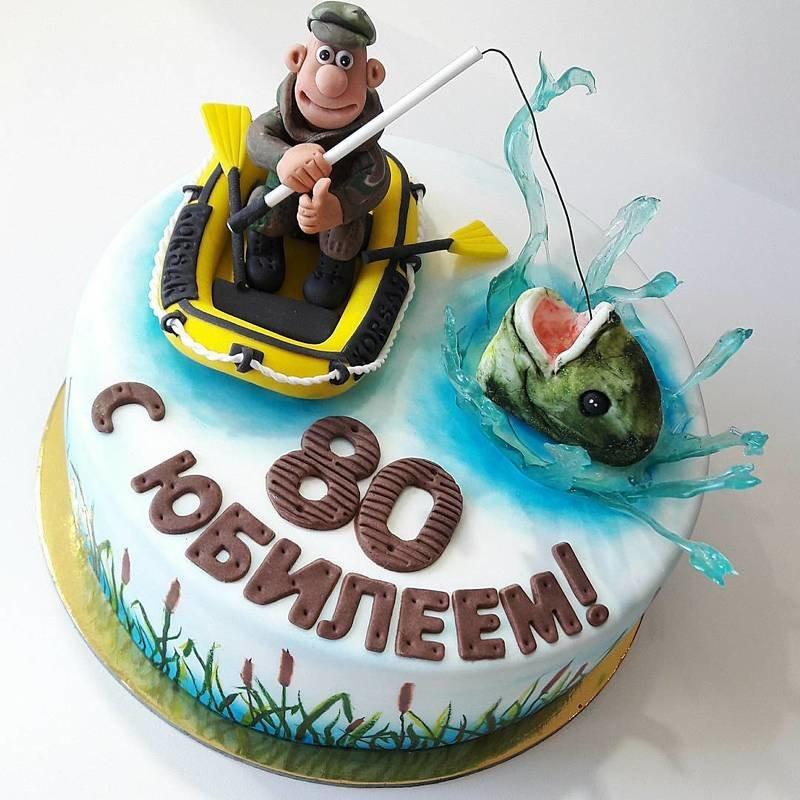 купить торт рыбалка