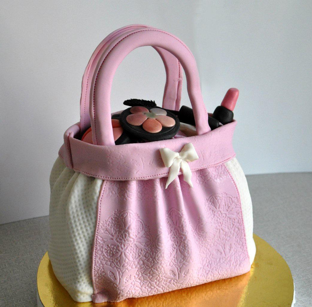 Торт дамская сумочка мастер класс